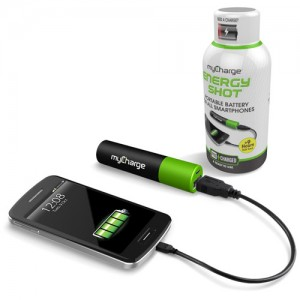 Stocking Stuffers 2014 - White Energy Shot MyCharge iPhone