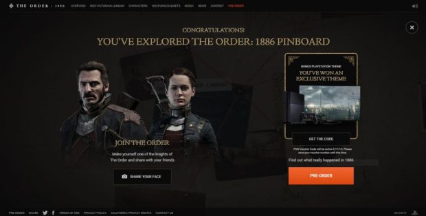 The Order 1886 Ps4 Theme