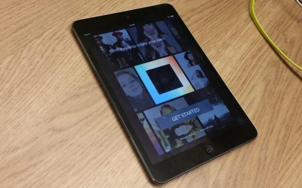 Layout iPad