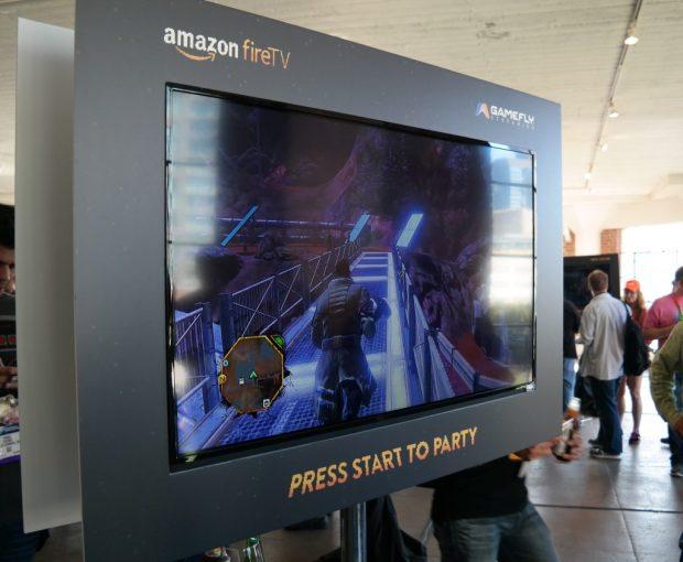 Amazon Fire TV x Gamefly