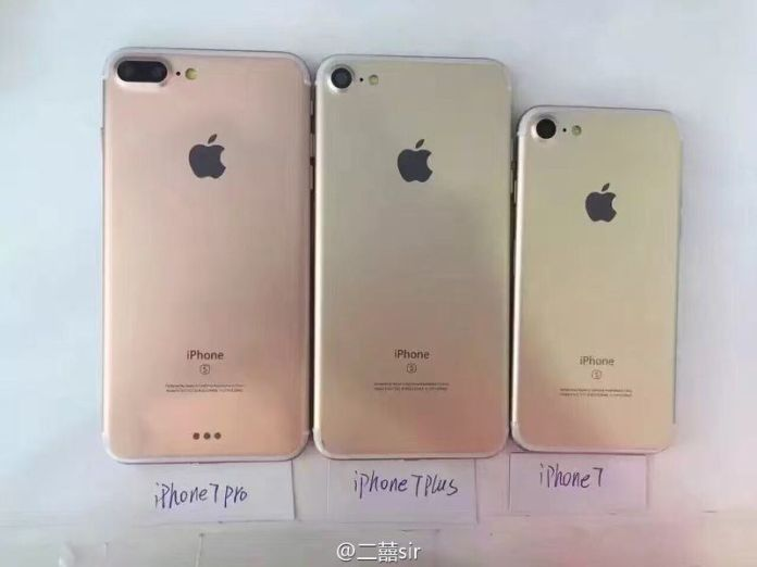 Leaked iPhone 7 images