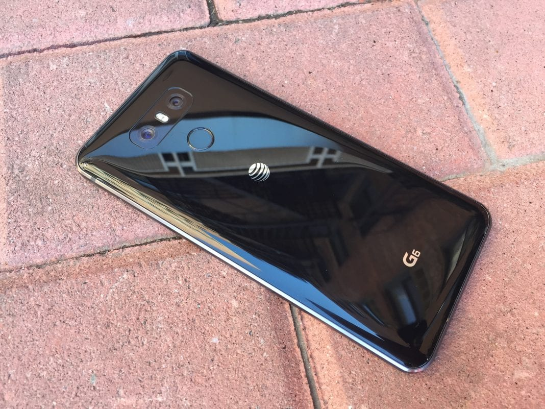 LG G6 Fingerprint