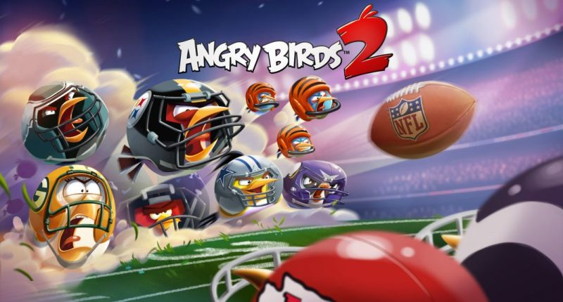 angry birds 2 NFL