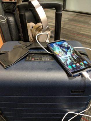 AWAY Bigger Carry On Bag Airport