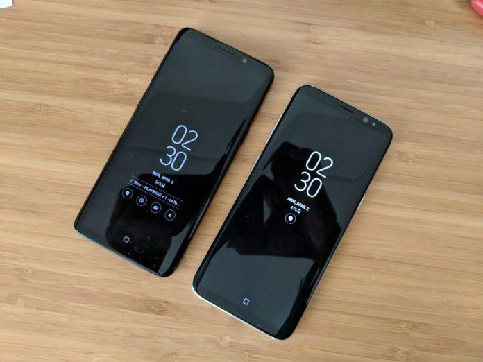 Samsung Galaxy S8 vs Samsung Galaxy S9 Infinity