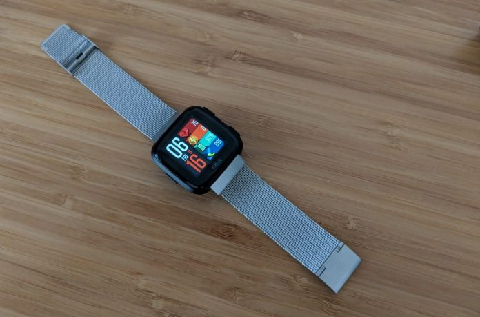 Fitbit Versa Stainless Band