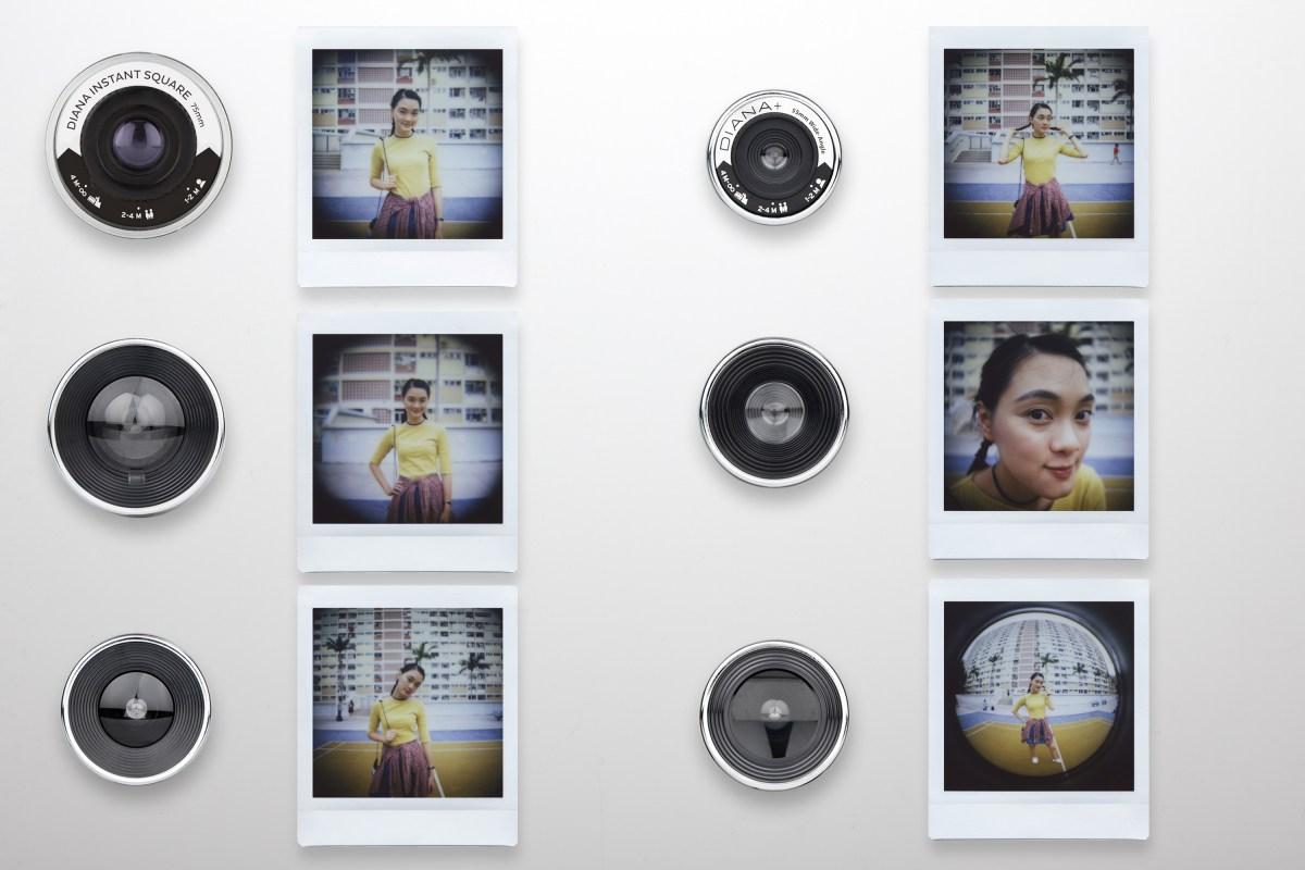 Lomography Diana F Lenses