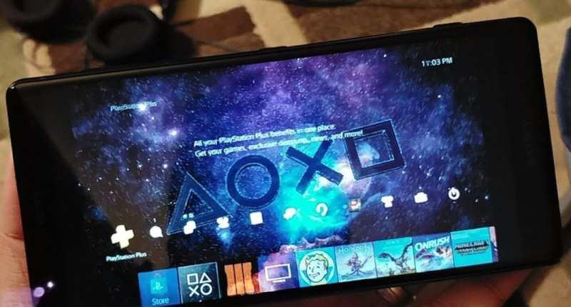 Xperia XZ2 Remote Play