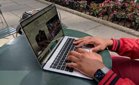 Huawei MateBook X Pro Typing 2