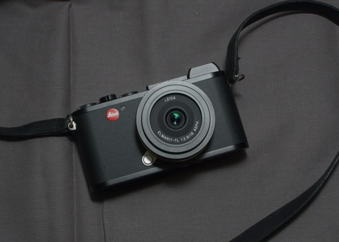 Leica CL with Elmarit TL 18mm f/2.8