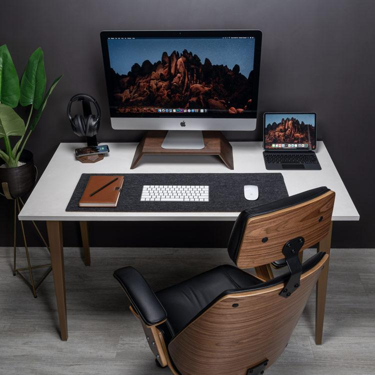 Oakywood Felt & Cork Desk Ma