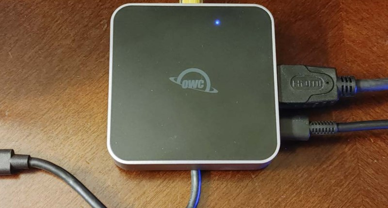 OWC USB-C Travel Dock E