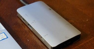 EZQuest USB-C 8-Port Hub