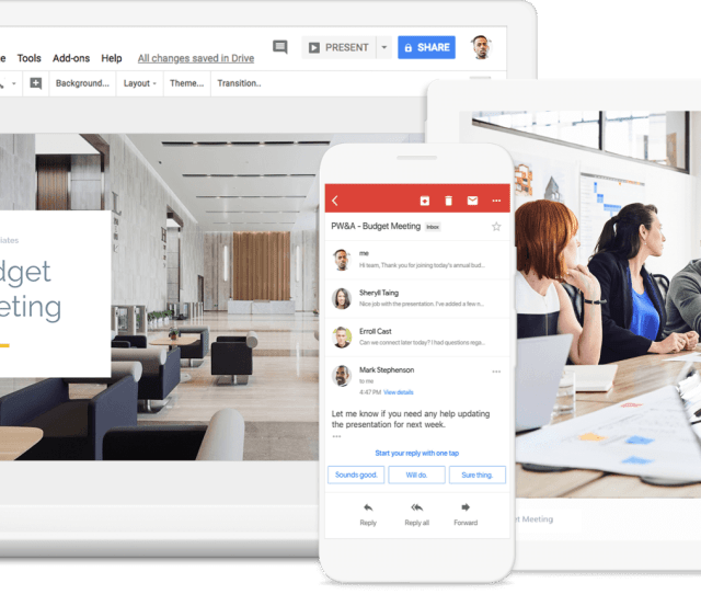 Get Started G Suite Products