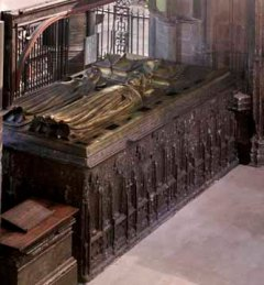 Richard II and Anne of Bohemia tomb from Henry V Chantry