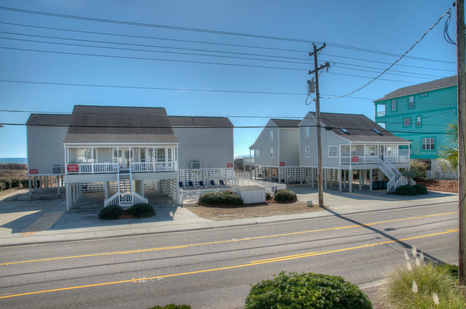 Myrtle Beach Vacation House Rentals Oceanfront Pool