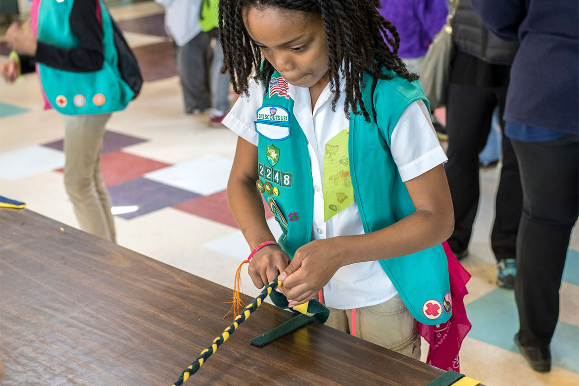 Girl Scout Traditions The Purpose Behind Arts And Crafts Girl
