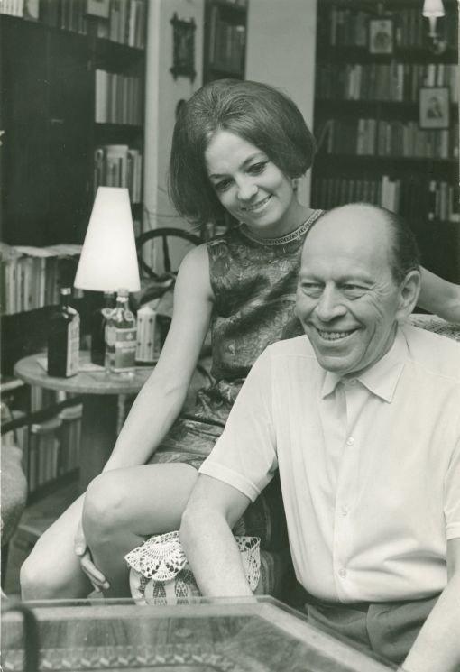 F Nagy Angéla férjével