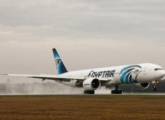 Különleges óriásgép Budapesten: Egyptair Boeing 777