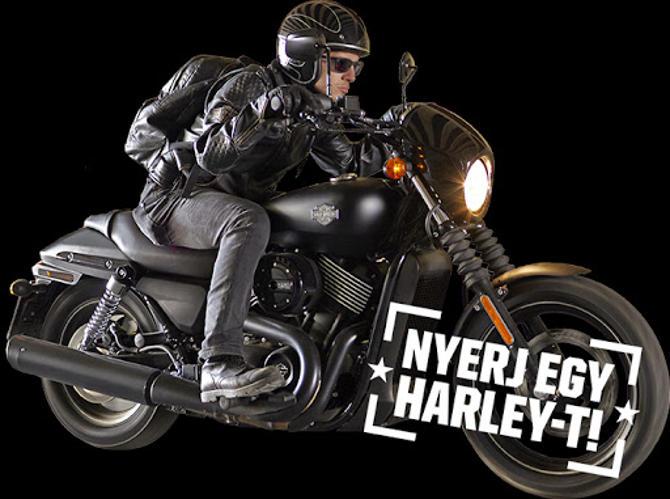 Fesztiválozz és nyerj egy Harley-t!