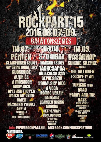 Rock, metal, Balaton – az év legkeményebb fesztiválja