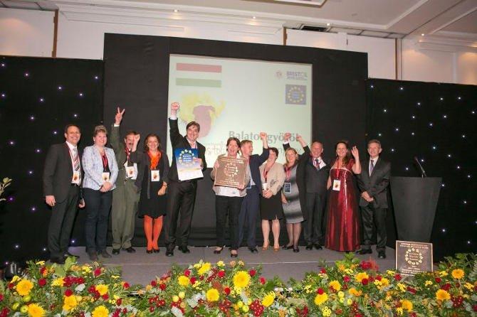 Európai virágos városok és falvak versenye 2015