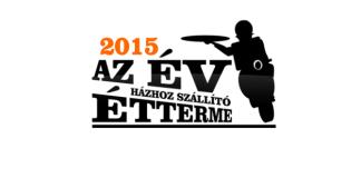 Az év házhoz szállító étterme verseny 2015