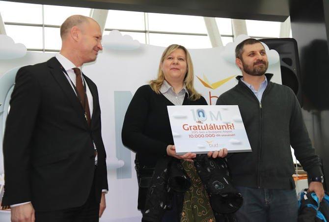 Tízmilliós repülőtér lett Ferihegy