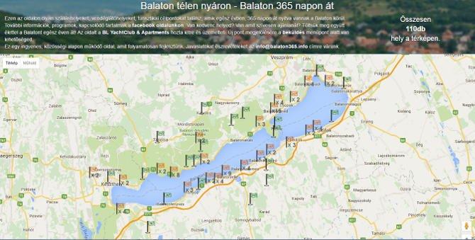 Egész évben Balaton