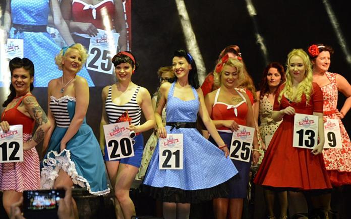 Miss Pin Up Hungary szépségverseny