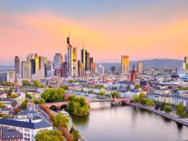 Frankfurt am Main látkép