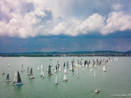 Vitorlás verseny - Balaton