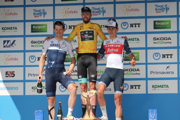 Tour de Hongrie eredményhirdetés