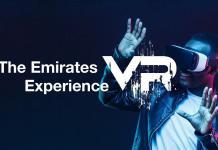 Emirates légitársaság vr alkalmazás