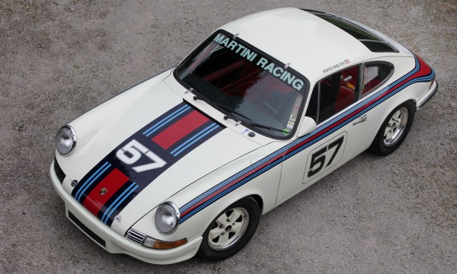 Race-prepared 1969 Porsche 911S coupe