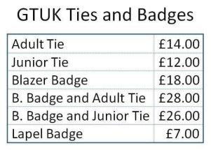 GTUK Badges & Ties