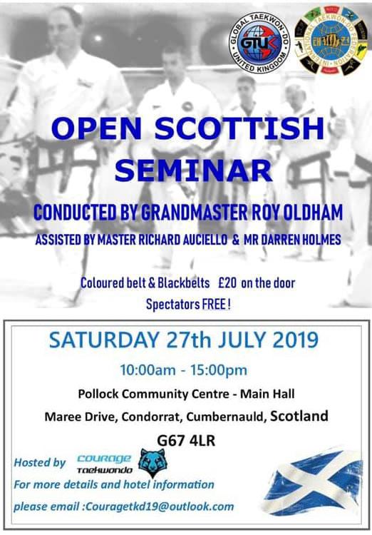 Scottish Taekwondo Seminar