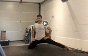 Stretching Tutorial video
