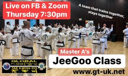 black belt JeeGoo