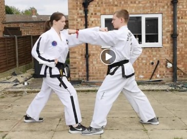 Set ONE STEP SPARRING 1 to 8