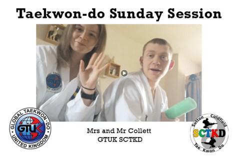 Taekwon-do Sunday Session