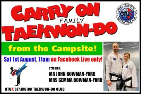 CARRY ON Family TAEKWON-DO