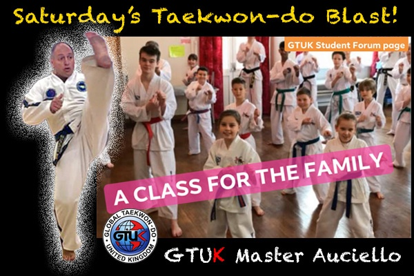 Saturday Taekwon-do Blast