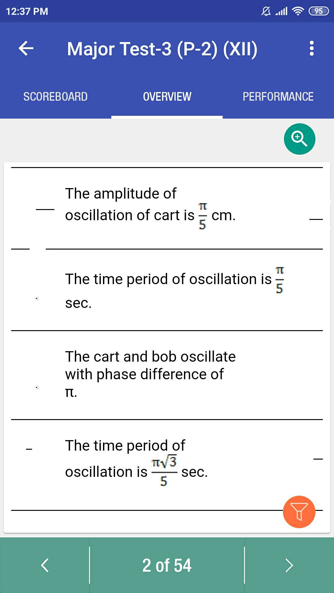 Doubt From Simple Harmonic Motion