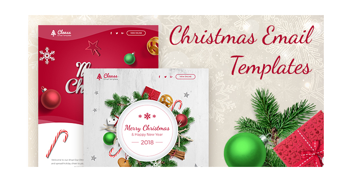 Christmas Email Templates For The Upcoming Holiday Mailing
