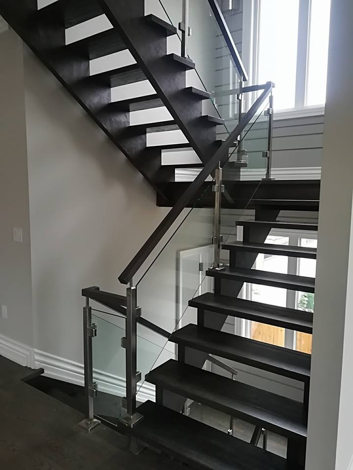 5 Styles Of Stair Railings For Interior Design Glass Railings   Handrails For Stairs Interior   Spiral Stair   Industrial   Modern   Oak   Rustic
