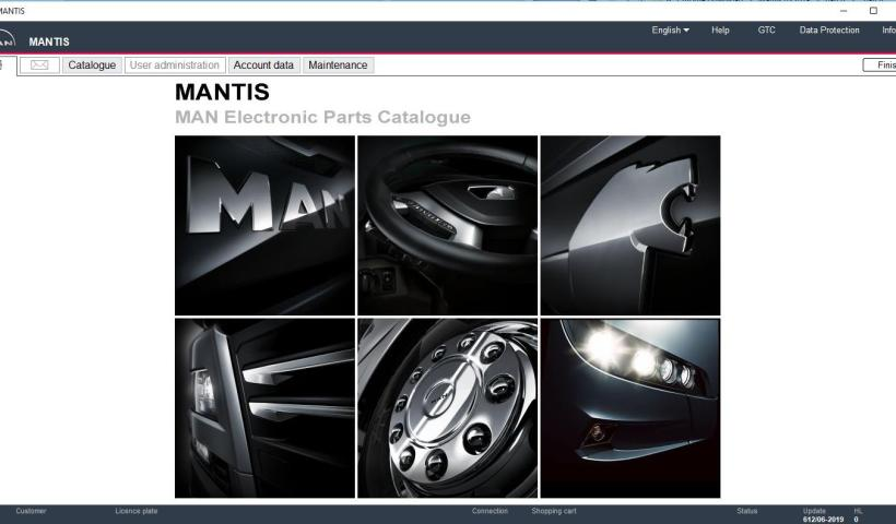 MAN EPC 2019.08 Mantis Update 616 Multilingual