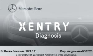 Xentry Pass Thru 2020.3.3 mercedes benz star diagnostic