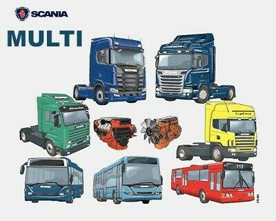 Scania Multi 2020 version 20.50.0.3 Multilingual 4 Scania Multi 1219 last update 052020 Xcom
