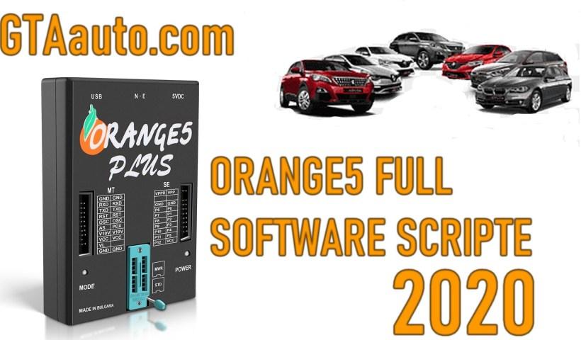 Orange5 Programmer Full Software Script 2020 Airbag Immobilizer dashboard ECU ..Big database 2 Sans titre 3